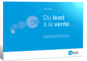 conversion de leads en ventes avec Oplead